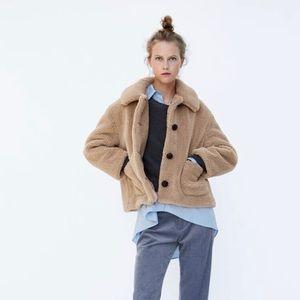 Zara - Teddy Coat